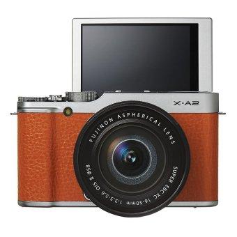 Fujifilm X-A2 16.3MP và lens kit Fujinon 16-50mm F/3.5-5.6 (Nâu)
