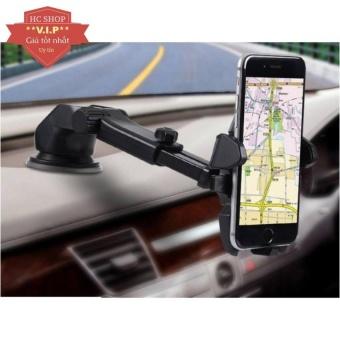 Giá đỡ kẹp điện thoại trên xe hơi, ô tô kéo dài, thu hẹp xoay 360độ (Đen) - 8404277 , OE680ELAA6A2U8VNAMZ-11591331 , 224_OE680ELAA6A2U8VNAMZ-11591331 , 76235 , Gia-do-kep-dien-thoai-tren-xe-hoi-o-to-keo-dai-thu-hep-xoay-360do-Den-224_OE680ELAA6A2U8VNAMZ-11591331 , lazada.vn , Giá đỡ kẹp điện thoại trên xe hơi, ô tô kéo dài,