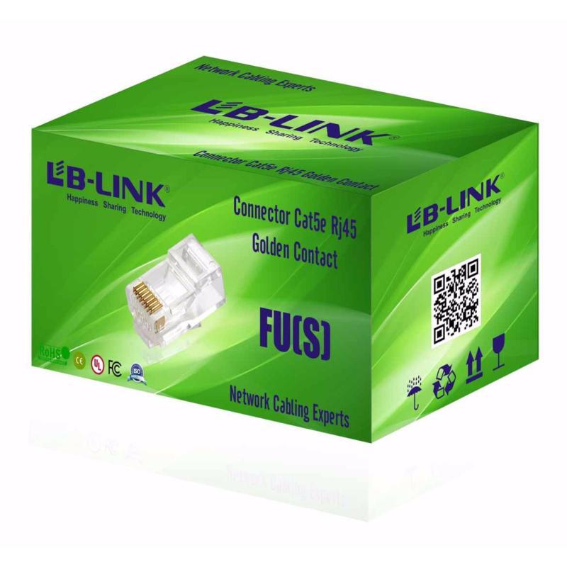 Bảng giá Hạt mạng LB-LINK Cat5e RJ45 FU(S) (100 hạt  hộp) Phong Vũ