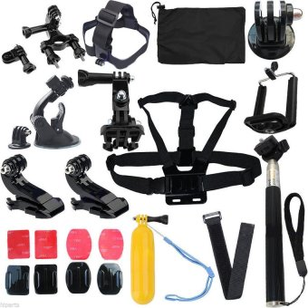 Head Strap Mount Floating Monopod Combo Kit Accessories For GoPro234 - intl