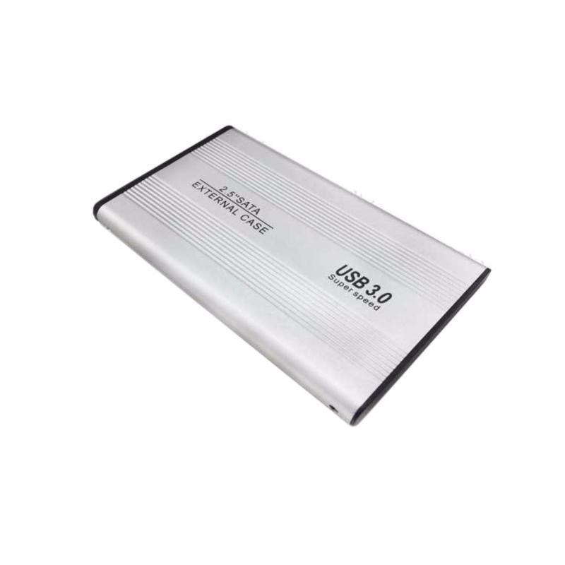 Bảng giá Hộp Đựng Ổ Cứng HDD BOX 2.5 inch SATA USB 3.0 Hợp Kim Nhôm (Bạc) Phong Vũ