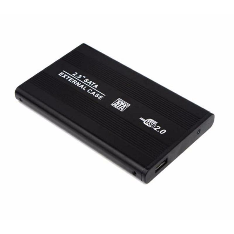 Bảng giá Hộp Đựng Ổ Cứng SATA USB2.0 HDD BOX 2.5 inch Hộp Kim Nhôm(Đen) Phong Vũ