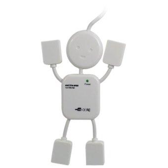 Hub chia USB thành 4 cổng hình robot (trắng) - 8806885 , US085ELAX2ZWVNAMZ-631158 , 224_US085ELAX2ZWVNAMZ-631158 , 35000 , Hub-chia-USB-thanh-4-cong-hinh-robot-trang-224_US085ELAX2ZWVNAMZ-631158 , lazada.vn , Hub chia USB thành 4 cổng hình robot (trắng)