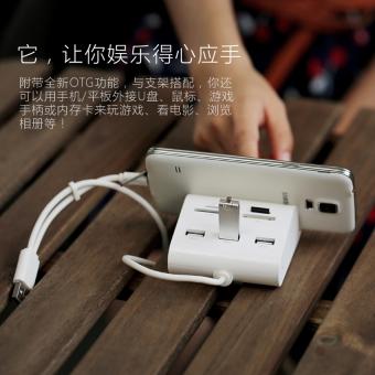 Hub USB 3.0 Combo Card Reader adapter Tích hợp OTG cho SmartphoneUG-30343