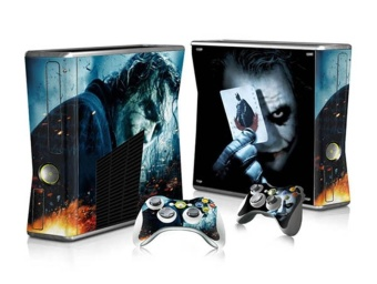 Joke Sticker Skin For Microsoft XBOX 360 Slim Console ControllerGift Durable - intl