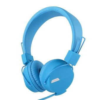 Kanen IP-852 Adjustable Headset for Smartphone (Blue) - intl