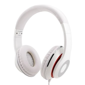 Kanen IP-980 Adjustable Headset (White) - intl