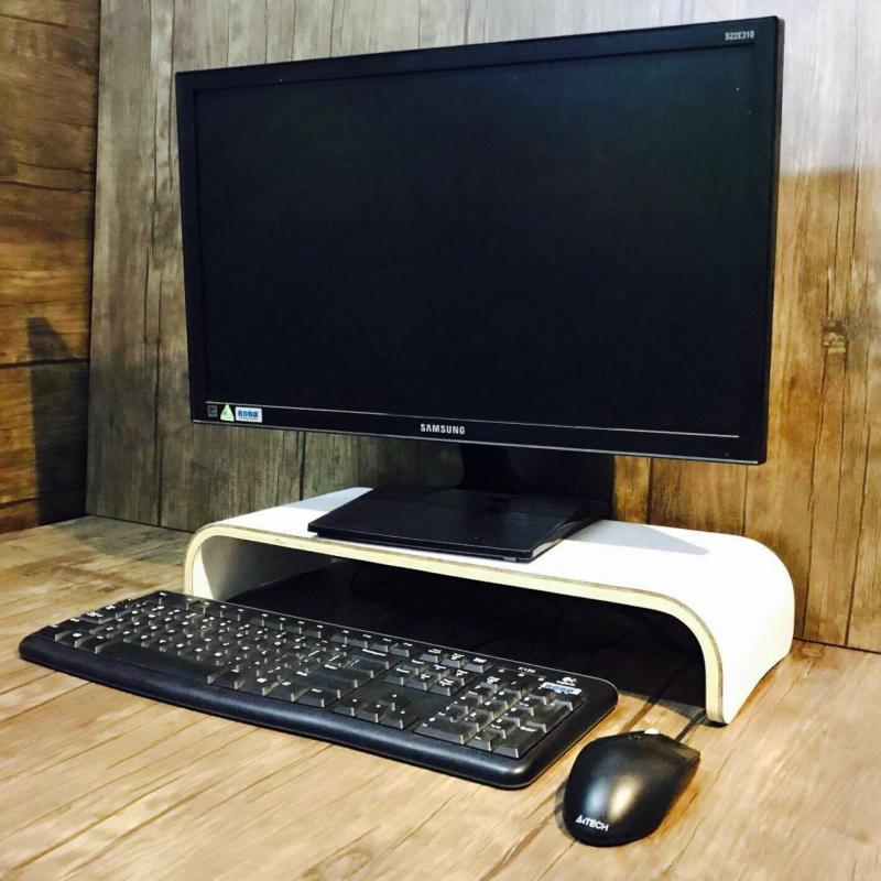 Bảng giá Kệ để màn hình máy tính Plyconcept Monitor Stand màu Trắng Phong Vũ