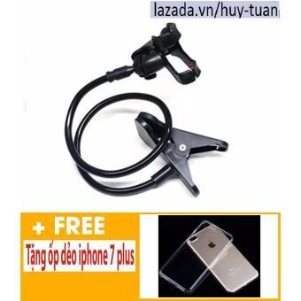 Kẹp điện thoại đuôi khỉ ( Đen ) + Free ốp dẻo trong suốt iphone 7 plus - 8198959 , HU612ELAA42FP8VNAMZ-7340547 , 224_HU612ELAA42FP8VNAMZ-7340547 , 45000 , Kep-dien-thoai-duoi-khi-Den-Free-op-deo-trong-suot-iphone-7-plus-224_HU612ELAA42FP8VNAMZ-7340547 , lazada.vn , Kẹp điện thoại đuôi khỉ ( Đen ) + Free ốp dẻo trong suốt