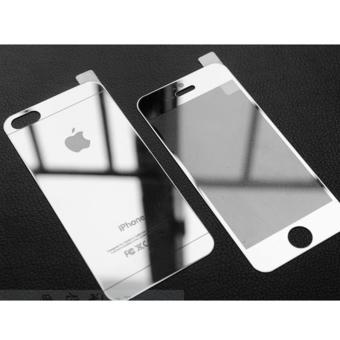 Ty gia Kính cường lực gương 2 mặt Glass cho iPhone 5/5S/SE ( Bạc) in Vietnam