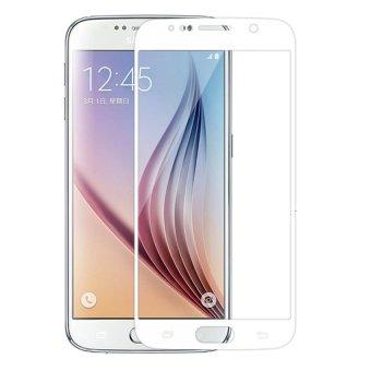 Kính cường lực màu cho Samsung Galaxy S6 (Trắng Bạc)
