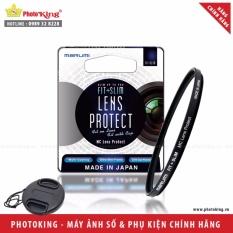 Kính lọc bảo vệ Marumi Fit+Slim lens protect 49mm + Tặng kèm nắp ống kính size tùy chọn