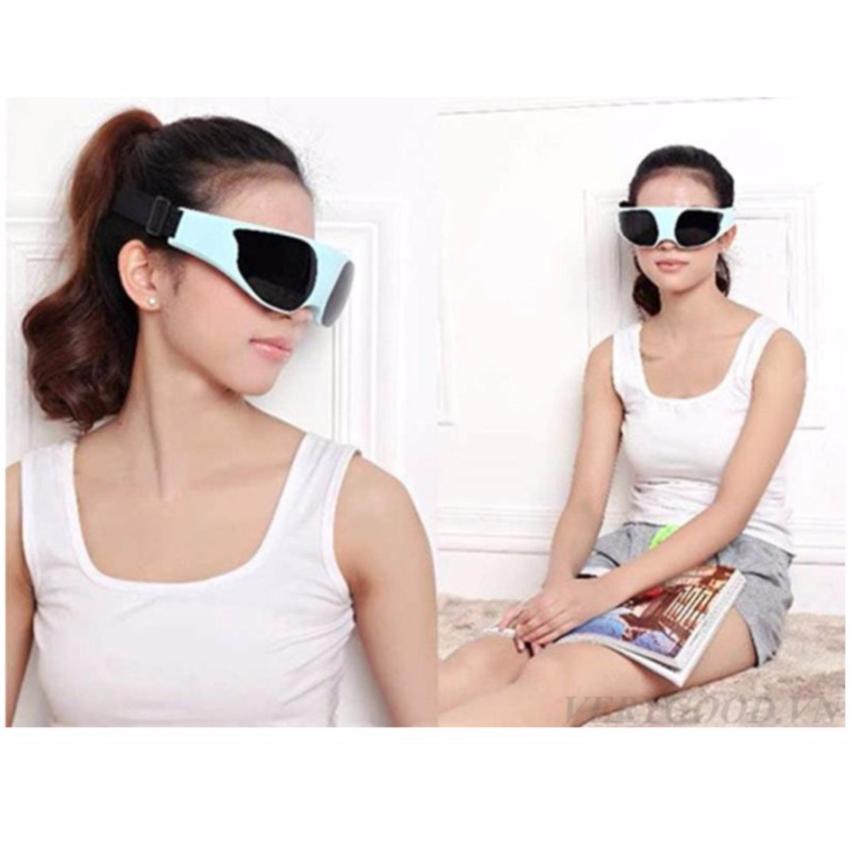 Hình ảnh Kính massage mắt TS-0816 (Xanh)