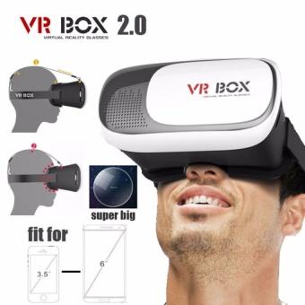 Kính Thực Tế Ảo 3d Vr Box Phiên Bản 2016 Ver 2.0