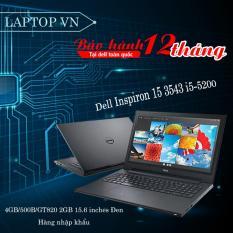 Giá Sốc Laptop Dell Inspiron 15 3543 i5-5200/4GB/500B/GT820 2GB 15.6 inches Đen – Hàng nhập khẩu