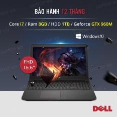 Laptop Dell Inspiron 7559, i7 6700HQ,8G,1TB ,VGA GTX 960M 4G, Màn 15.6inch full HD (Đen) – Hàng nhập khẩu