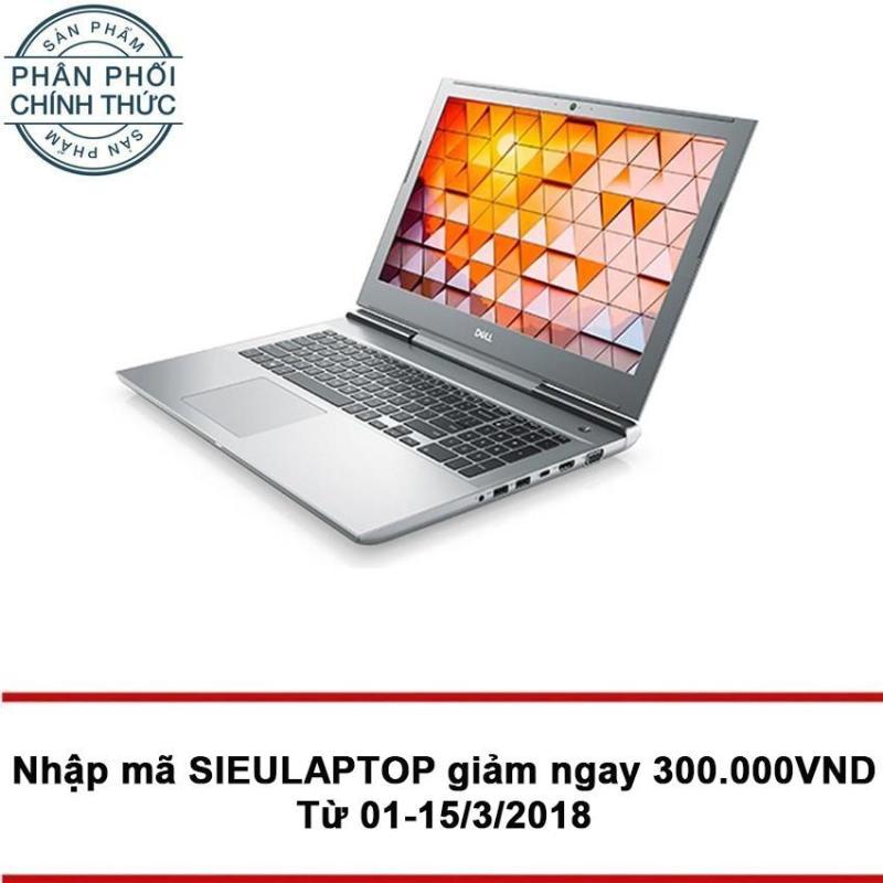 Laptop DELL Vostro 7570 70138566 Core i7-7700HQ Ram 8GB 1TB 15.6 Win 10 (Bạc)- Hãng phân phối chính thức