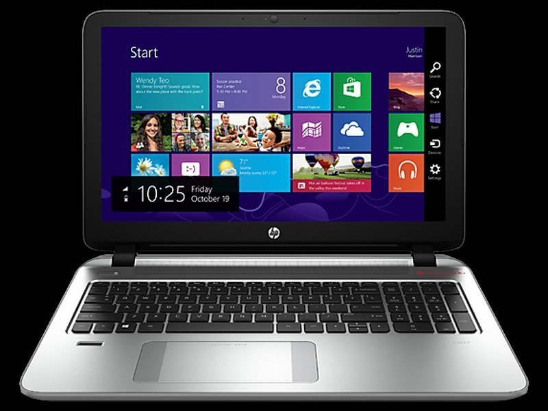 Laptop HP Envy 15T 1Y34E500078 15.6inch (Bạc)