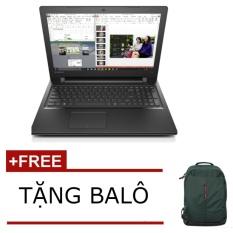 So Sánh Giá Laptop Lenovo IdeaPad 300 (Đen) – Hãng phân phối chính thức + Tặngbalô đựng laptop