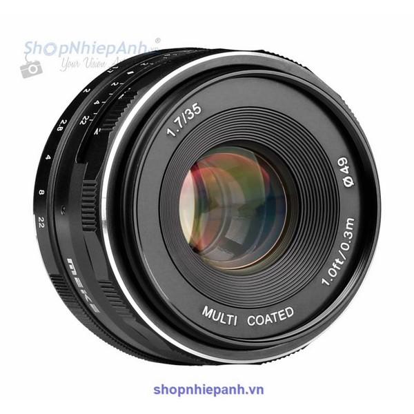 Lens Meike 35F1.7 manual focus for Fujifilm FX