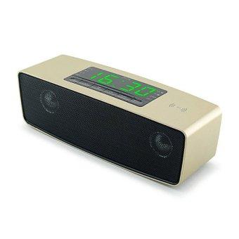 Loa Bluetooth cao cấp nghe nhạc đa năng usb thẻ nhớ đài FMJY-16 (Vàng)