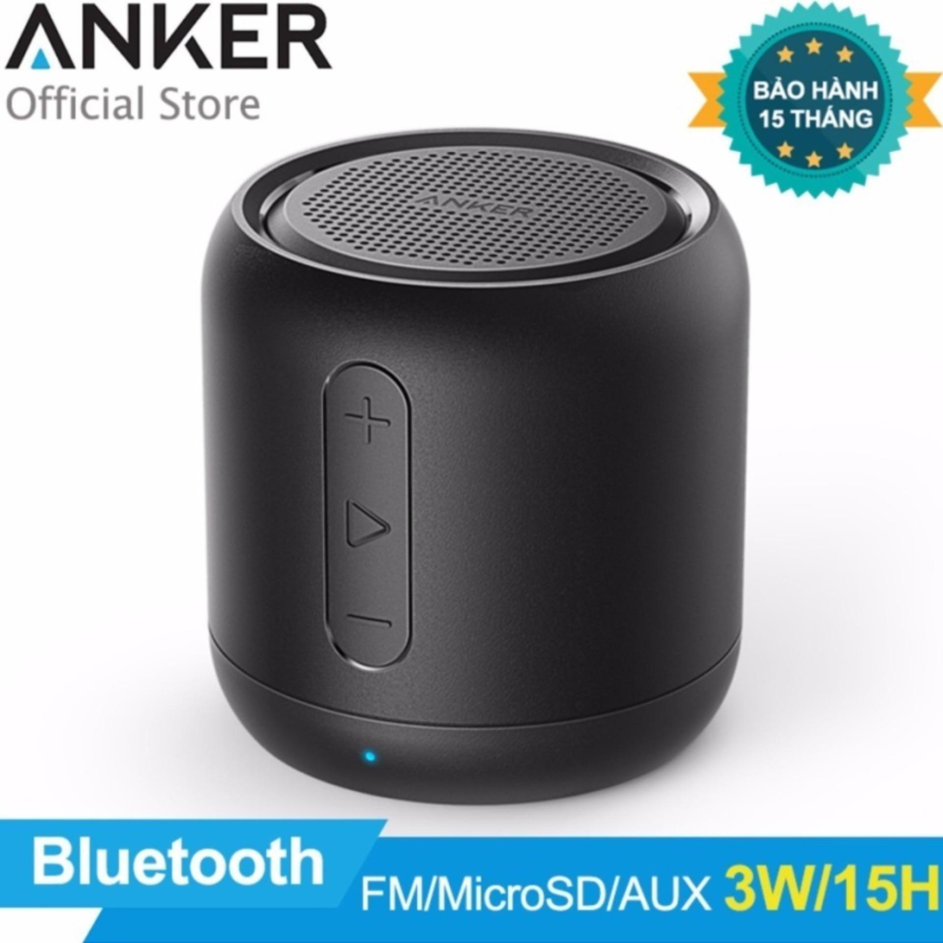 Anker Bluetooth Speaker Fm Radio Bluetooth Usb Cable Replacement Ihealth Blood Pressure Monitor Troubleshooting Lg Bluetooth Headset For Phone: Loa Di động Bluetooth ANKER SoundCore Stereo Speaker (Đen