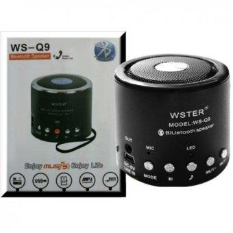 Loa Bluetooth mini Wster WS-Q9 (Đen) - 8839166 , WS489ELAA189SUVNAMZ-1840912 , 224_WS489ELAA189SUVNAMZ-1840912 , 160000 , Loa-Bluetooth-mini-Wster-WS-Q9-Den-224_WS489ELAA189SUVNAMZ-1840912 , lazada.vn , Loa Bluetooth mini Wster WS-Q9 (Đen)