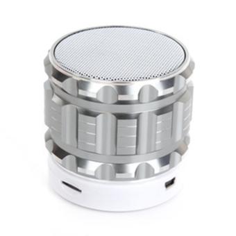 Loa di động Bluetooth S28 (Bạc)