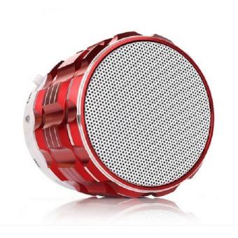 Loa di động Bluetooth S28 vỏ nhôm nguyên khối (Đỏ)