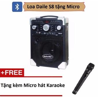 Loa karaoke di động s8 - Bluetooth