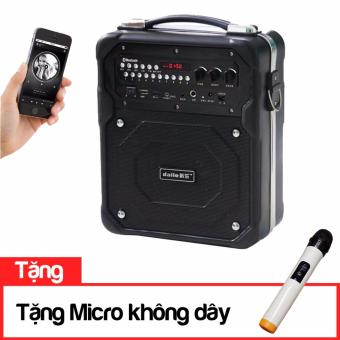 Loa Kẹo kéo Vali Bluetooth Daile S10 (Đen)tặng kèm Micro không dây - 8113642 , DE011ELAA5HEWUVNAMZ-10068034 , 224_DE011ELAA5HEWUVNAMZ-10068034 , 1499000 , Loa-Keo-keo-Vali-Bluetooth-Daile-S10-Dentang-kem-Micro-khong-day-224_DE011ELAA5HEWUVNAMZ-10068034 , lazada.vn , Loa Kẹo kéo Vali Bluetooth Daile S10 (Đen)tặng kèm