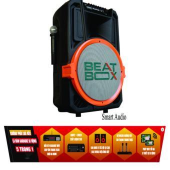 Loa kéo tích hợp đầu Karaoke Wifi Acnos Beatbox KB39 (Đen)