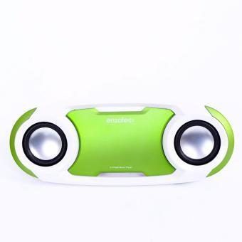 Loa mini cao cấp Enzatec SP509 nghe FM thẻ nhơ USB ( Hàng nhập khẩu)