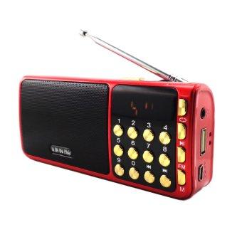 Loa nghe nhạc USB FM SA-932 (Đỏ)