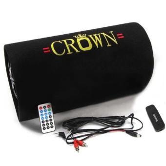 Loa phát nhạc Crown số 5 + tặng bộ tạo Bluetooth (Đen)