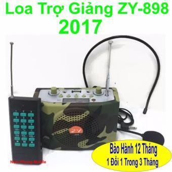 Loa trợ giảng Không Dây ZY-898 - 2017 (Rằn ri) - Hàng nhập khẩu