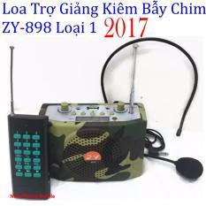 Chi tiết sản phẩm Loa trợ giảng Kiêm Bẫy Chim Không Dây ZY-898 – 2017 (Rằn ri)