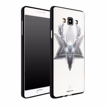 Luxury 3D Relief Sculpture Soft TPU Case Cover For Samsng Galaxy A7 - intl