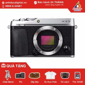 Máy ảnh Fujifilm X-E3 body (Bạc) - Hãng Phân Phối Chính Thức