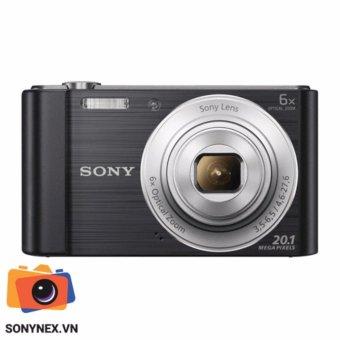 Máy ảnh KTS Cyber-shot™ Sony W810 - 20.1 Mp - Màu Đen- Hãng phânphối chính thức