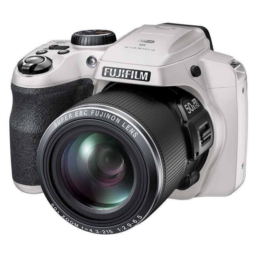Máy ảnh KTS Fujifilm FinePix S9900W 16.2MP và Zoom quang 50x (Trắng)