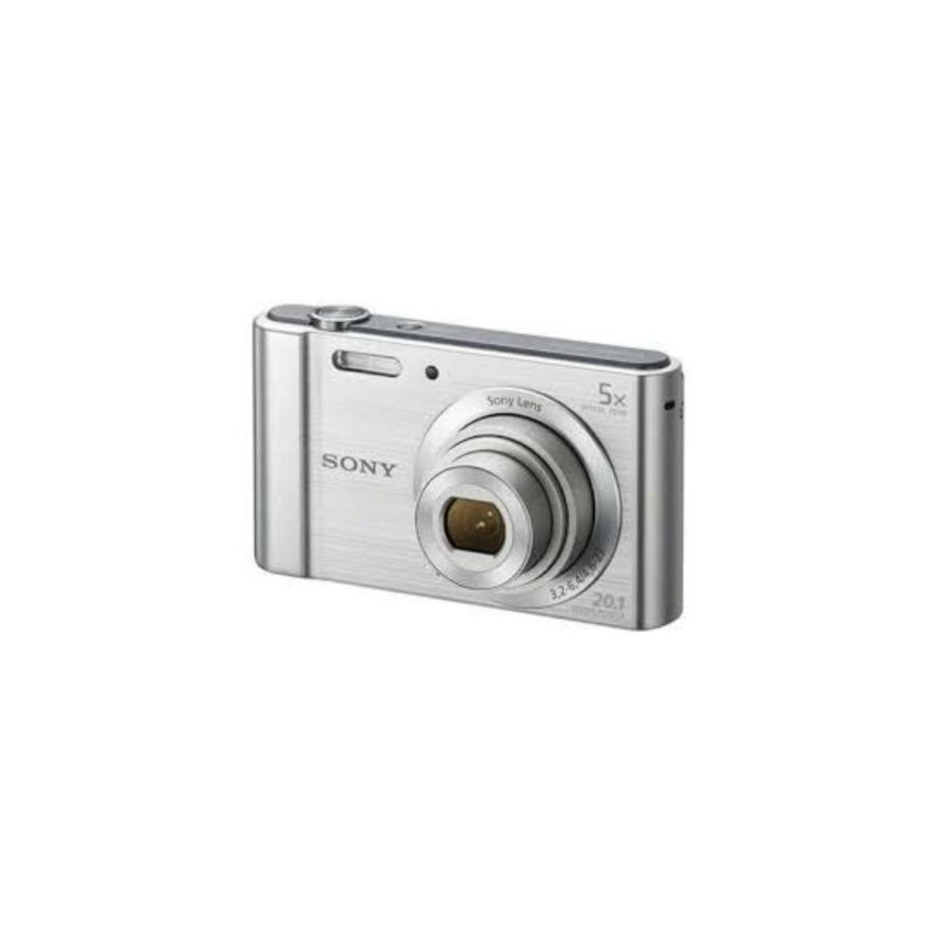 Máy ảnh KTS Sony Cyber-shot DSC-W800 20.1MP và Zoom quang 5x (bac)
