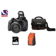 Trang bán MÁY ẢNH SONY CYBERSHOT DSC H400 Tặng thẻ nhớ 8gb, ba lô, túi đựng máy