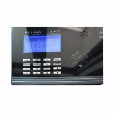 Máy chấm công thẻ cảm ứng dung lượng lớn và chức năng truy cập cửa Metron K400 (màu đen) dưới x triệu