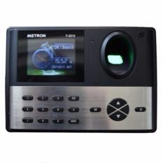 Cập Nhật Giá Máy chấm công vân tay với sensor cực nhanh nhạy Metron F2312 (màu đen xám)