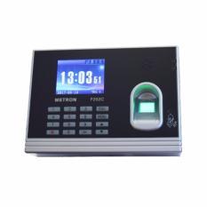 Giá Máy chấm công vân tay/thẻ, màn hình màu LCD và chức năng truy cập cửa Metron F202C (màu đen)