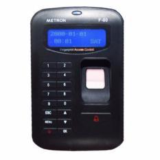 So Sánh Giá Máy chấm công vân tay/thẻ và chức năng truy cập cửa, nhỏ gọn Metron F80 (màu đen)