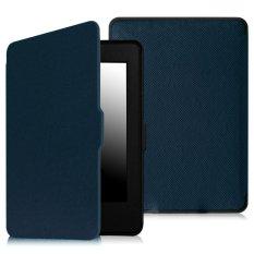 Nên mua Máy đọc sách Kindle PaperWhite (2015) 4GB Wifi (Đen) và Bao da KINDLE PAPERWHITE 2015 (Xanh)  ở DETICO