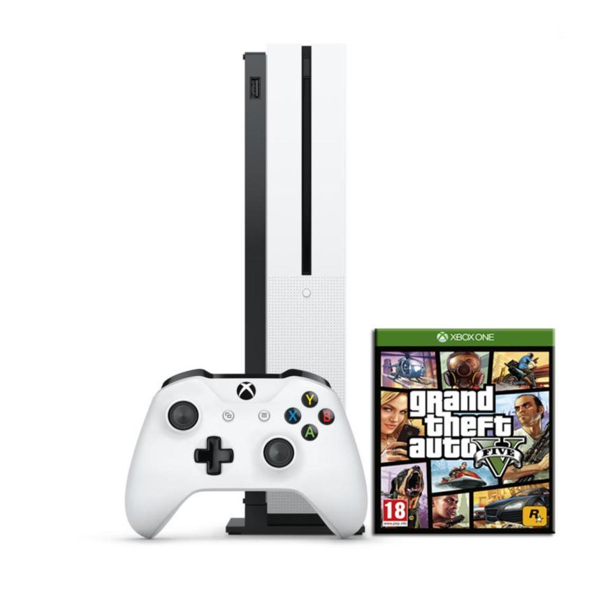 Máy Game Xbox One S 500Gb tặng kèm đĩa GTA 5