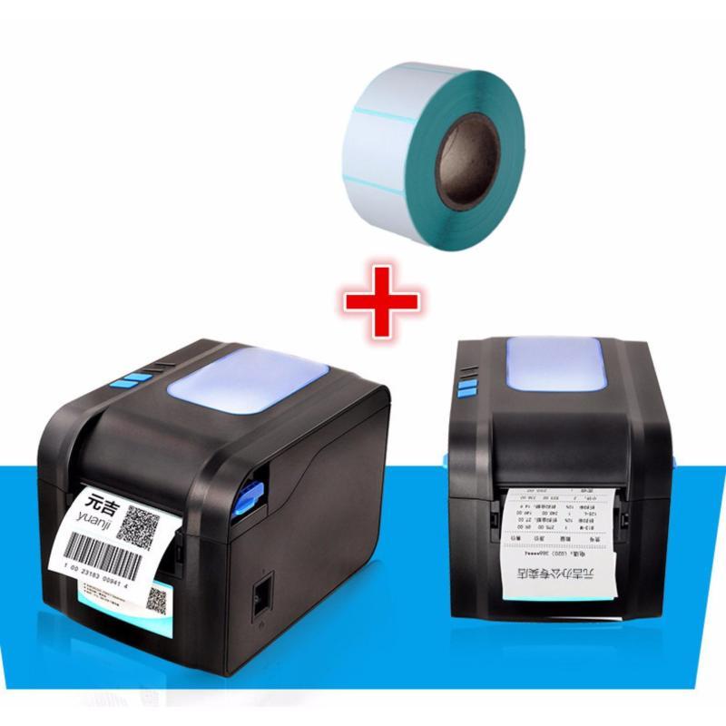 Bảng giá Máy in bill k80+in mã vạch Xprinter 370B tặng kèm 5 cuộn giấy k80x50,1cuộn in tem 20x30x500 tem Phong Vũ